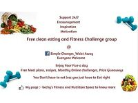 Free clean eating and fitness group!! On facebook!!
