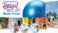 BRAZIL BUTT LIFT MASTER SERIES Workouts * Brand New Sealed *