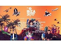 4 x Radio 1 ibiza Friday 4th August - Hï Ibiza