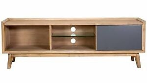As new wood entertainment unit. Delivery in NSW only