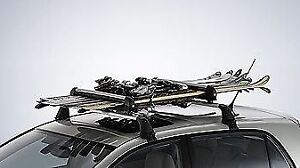 Ski Rack and Car roof rack/Cross bars Combo  Package SALE