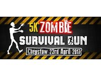 ZOMBIE INFLATABLE OBSTACLE SURVIVAL RUN