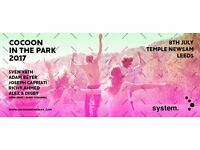 system. presents Cocoon in the Park 2017
