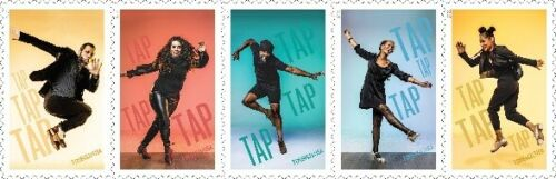 5609-5613 Tap Dance Strip Of Five Mint/nh FREE SHIPPING