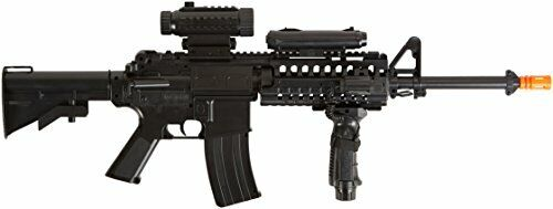 Air Rifle with Mock Red Dot Sight Integrated Rail System 500 Round Magazine