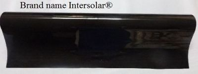 "WINDOW TINT FILM 20%  30"" x 50 FT LIMO  Intersolar® HP 2PLY  medium"