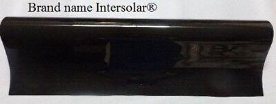"Uncut Roll Window Tint Film 5% VLT 36"" In x 50' Ft Feet Charcoal Black"