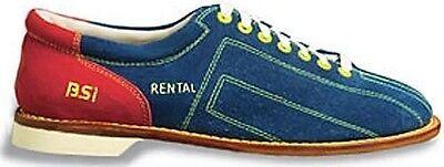BSI Brushed Leather Suede Rental Mens Bowling Shoes Model 70000