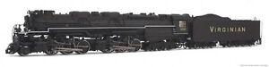 Rivarossi Virginian Blue Ridge Class 2-6-6-6 HO Scale Steam Locomotive HR2407
