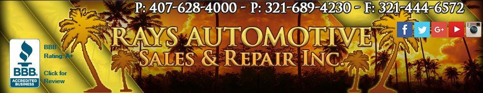 RAY`S AUTOMOTIVE SALES AND REPAIR I