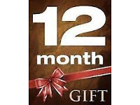 skybox openbox subs gifts only 12 month
