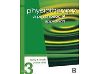 Physiotherapy at psychosocial approach by Simm and Wright (3rd edition) for sale