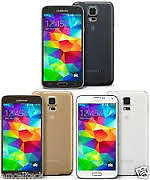 WIND BRAND NEW BLACK/WHITE/GOLD SAMSUNG GALAXY S5 $450 EACH UNLK