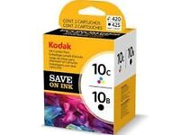 Kodak ink combo pack, 10C/10B