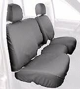 05-11 TOYOTA TACOMA REAR SEAT COVERS GREY