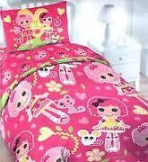 like new lalaloopsy twin size bedding duvet and pillow case
