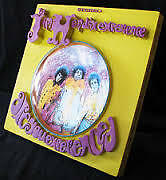 McFarlane Toys 3D Album Cover Jimi Hendrix Are You Experienced