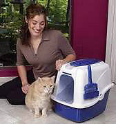 Help! My Kitty litter stinks; need a covered litter pan!