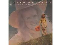 Lynn Anderson - What A Man My Man Is - Vinyl Record - Excellent Condition