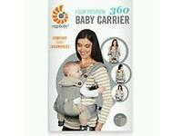 Ergobaby 360 4 position carrier with box