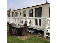 2 double bedroom willerby grenada static caravan. fully equipt inc this year site fee, price £11000