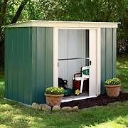6 x 4. Greenvale Metal Shed. New. With Free FLOOR.