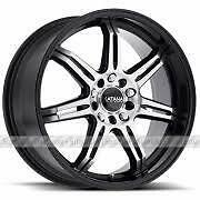 NEW! 17 AND 18 inch BLACK with machined face!! WITH NEW TIRES!! Multi bolt pattern FITS MANY VHEICLES!
