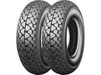 2 x brand new MICHELIN S83 Tyres 3.50-8