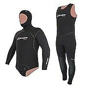 US Divers two piece wetsuit with mask and gloves