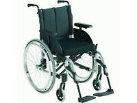 Invacare Wheelchairs (2) Very Good condition, Black Large Rear Wheels