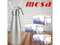 MOSA CREAM CHARGERS (COLLECTION ONLY)