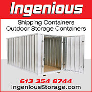 Used 40ft HC container - High Cube Transport Container Kingston Kingston Area image 9