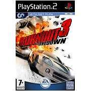 PS2 game ***** BURNOUT 3 TAKEDOWN ***** new sealed rare