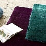 5 x 7 High Profile Teal Shag Rug -