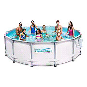 Brand new summer waves pool with all accessories