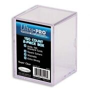 Ultra Pro 150 Count Two Piece Trading Cards Storage Box Kitchener / Waterloo Kitchener Area image 1