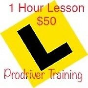 Learn to drive $50 1 hour