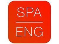 Exchange Spanish - English