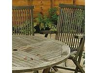 Wanted old garden furniture
