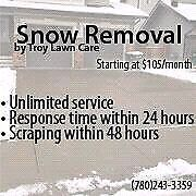 Snow Removable by Troy Lawn Care LTD. AFFORDABLE Strathcona County Edmonton Area image 1