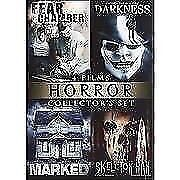 4 Films... Horror... Collector's Set...$2 Firm...