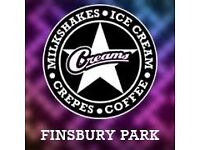 Assistant Manager - Creams Cafe Finsbury Park
