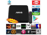 The New M8S Android Tv Box, Quadcore 2.0mhz 2gb ram FULLY LOADED KODI including Genesis, Pheonix etc