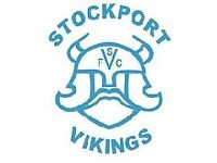Stockport Vikings Open Age Sunday Team- Recruiting Players