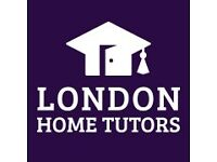 Tutors Wanted - SW London. From £40 p/h. Maths&English&Science Primary, GCSE, A-Level and 11+ & 13+