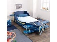 Kids aeroplane bed