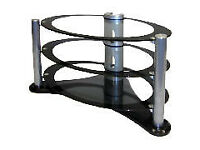 Lovely oval TV stand 42 inches wide