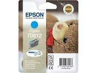 Epson Cyan T0612 Ink Cartridge for Stylus (C13T06124010)