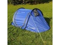 Two Man Pop-up Tent (Blue)