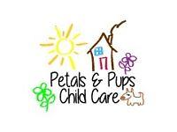 Petals & Pups Childcare (Childminder)